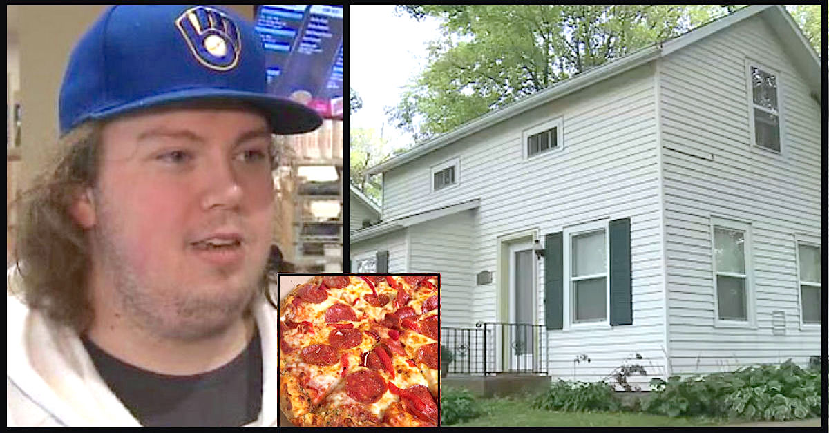 Kidnapped woman rescued from 'house of horror' by Domino's delivery driver