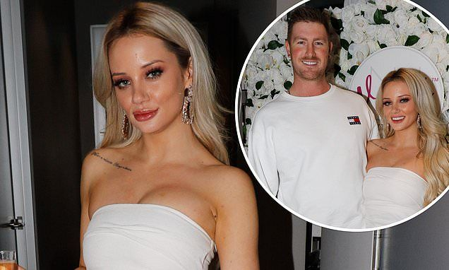 An all-white night! MAFS' Jessika Power and Nick Furphy lead the star arrivals at dental studio event