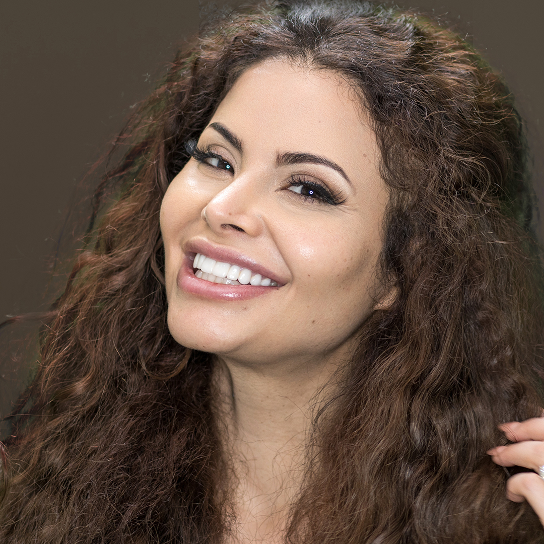 Venus Behbahani-Clark smile makeover with Dr Dee at Vogue Dental Studios.