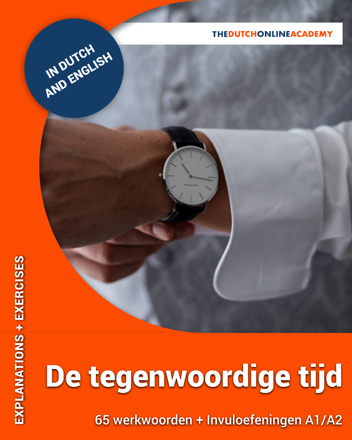 Learn Dutch with De tegenwoordige tijd