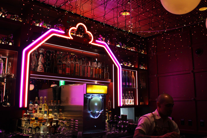 The Ghost Donkey bar in Las Vegas is a Speakeasy hidden inside the Cosmopolitan.