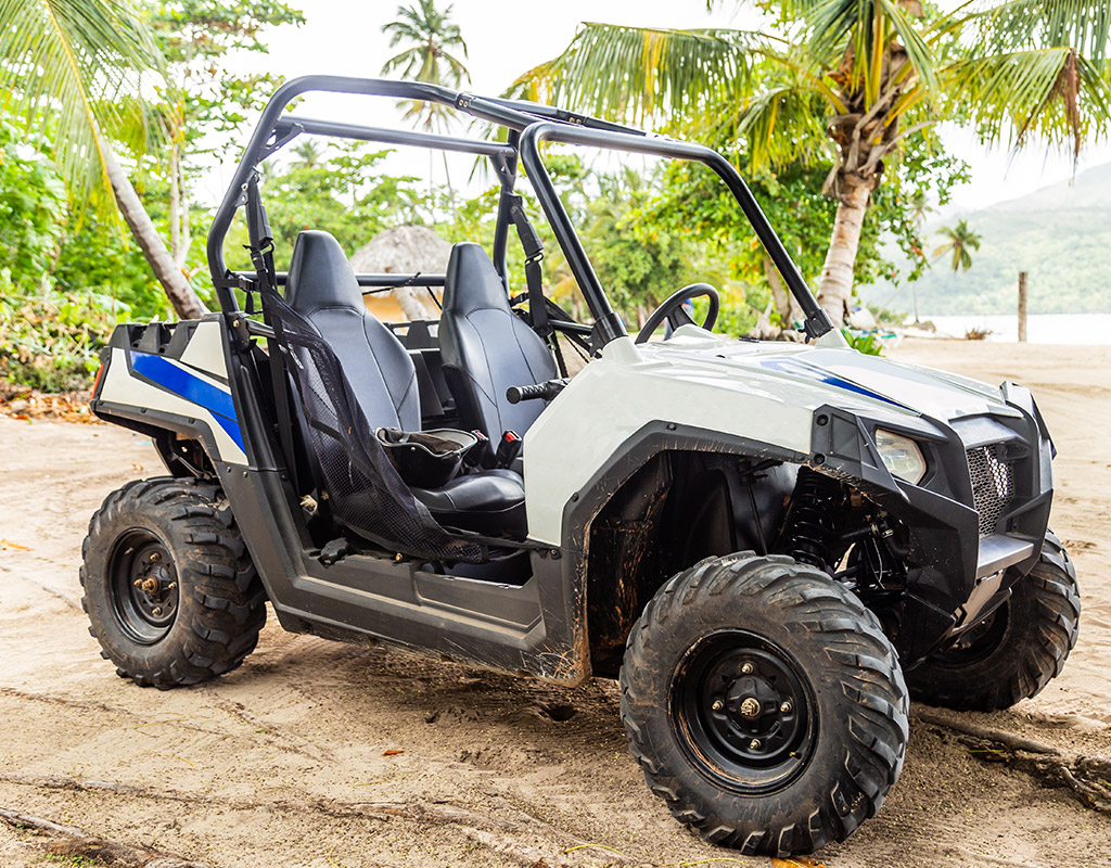 Swoop | a picture of an ATV in Montego Bay, Jamaica