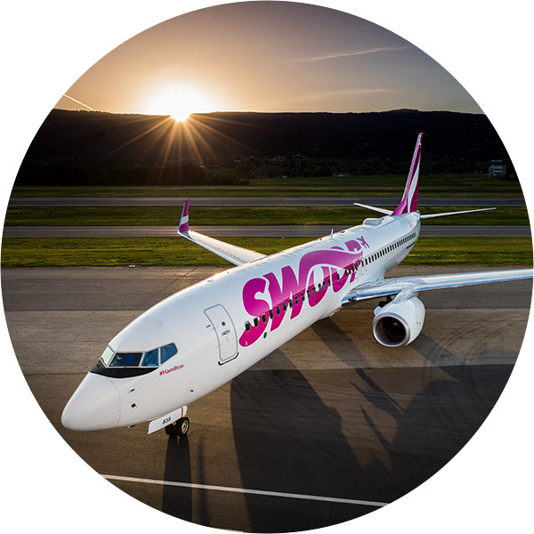 Swoop | a picture of the plane