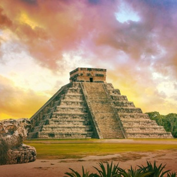 Getaway to the Mayan ruins near Cancun, Mexico