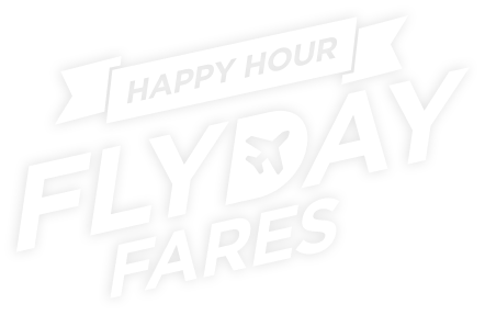 Happy Hour Flyday Fares