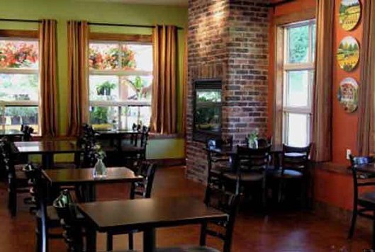a picture of the interior of Tanglebank Garden and Brambles Bistro in abbotsford
