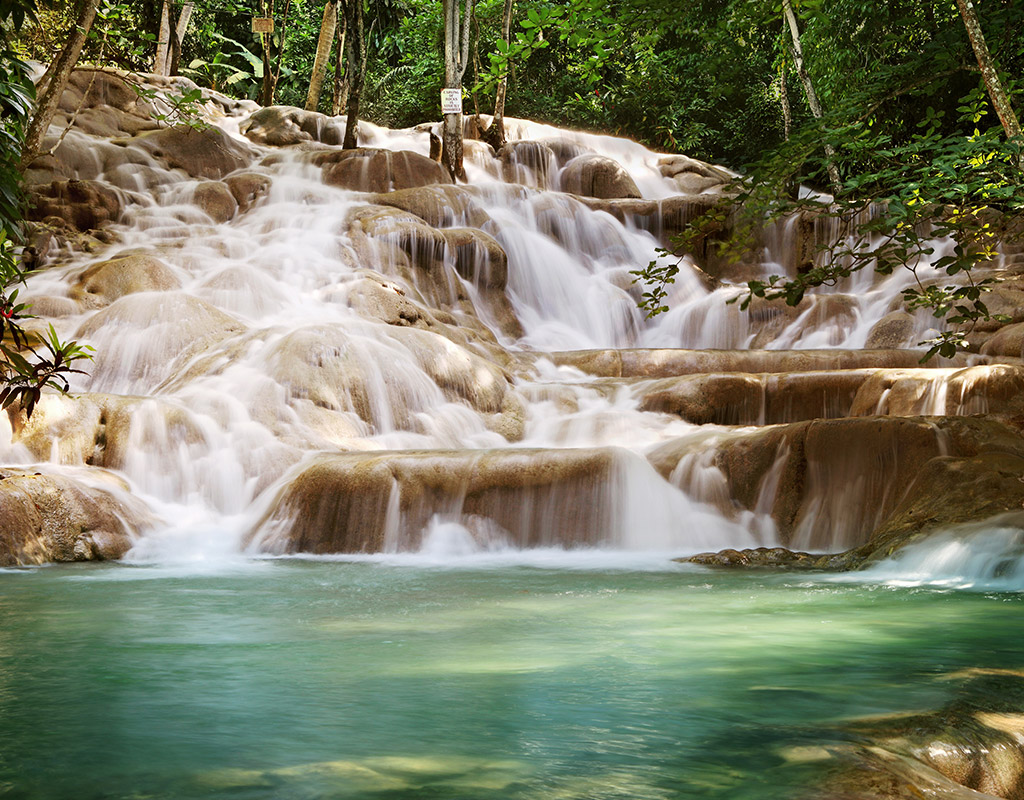 Swoop | a picture of another waterfall in Montego Bay, Jamaica