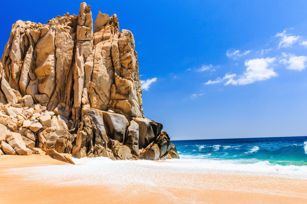 Swoop | a picture of the Divorce beach in Los Cabos, Mexico