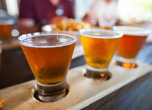 Swoop | a flight of local beer in Abbotsford
