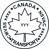 Canadian Motor Vehicle Safety Standard Logo