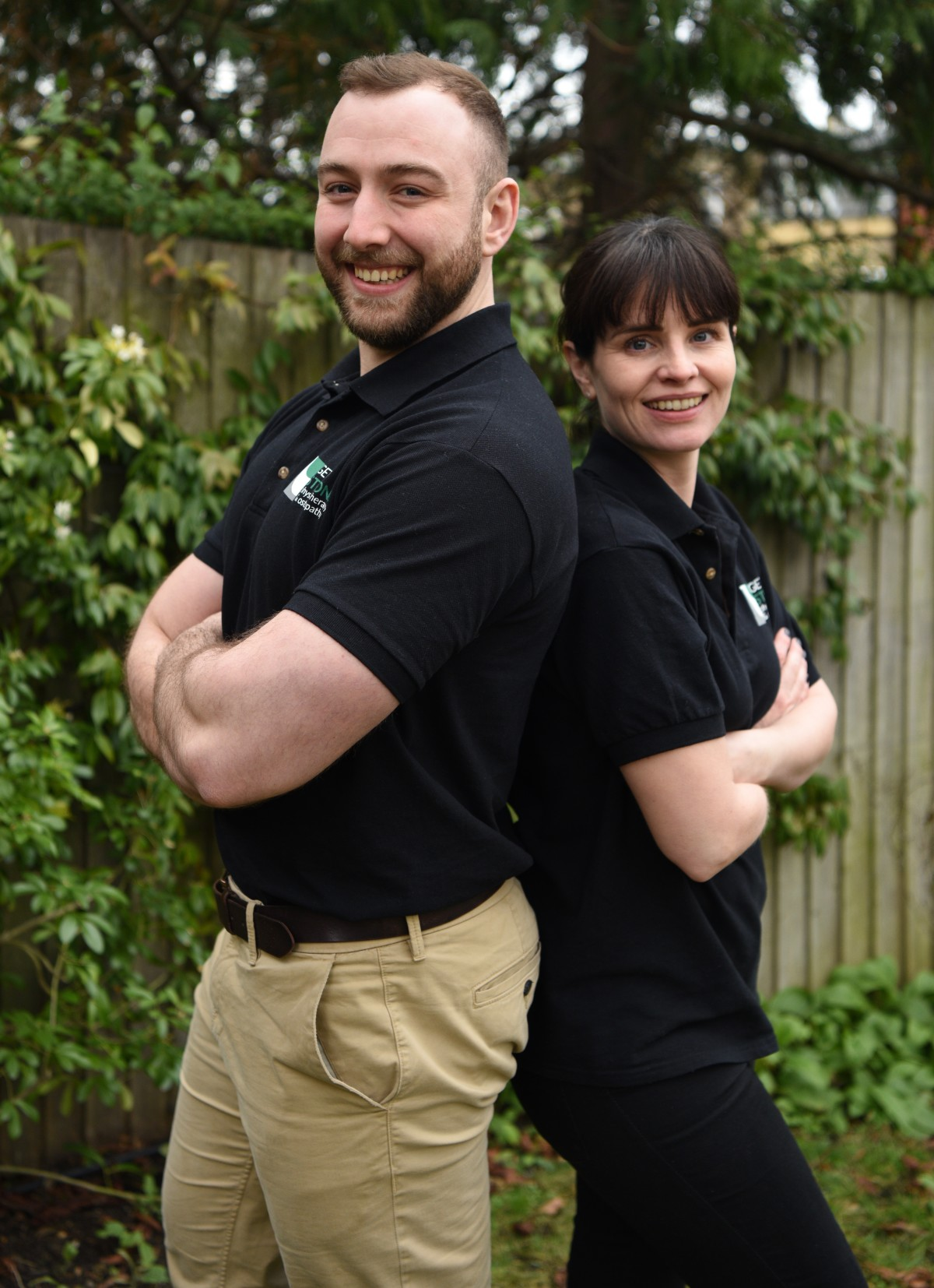 Claire and Callum physio & osteopath