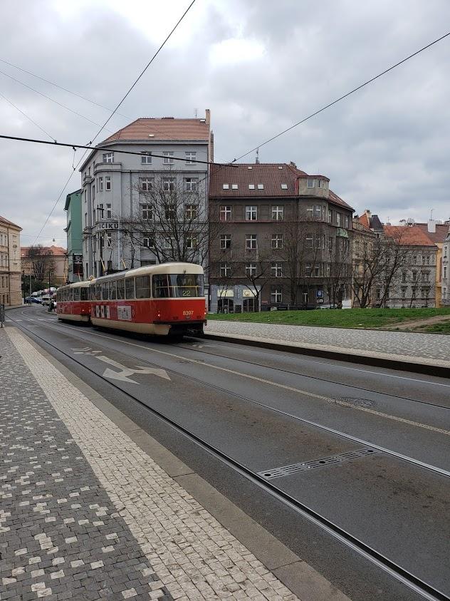 using public transportation in Prague