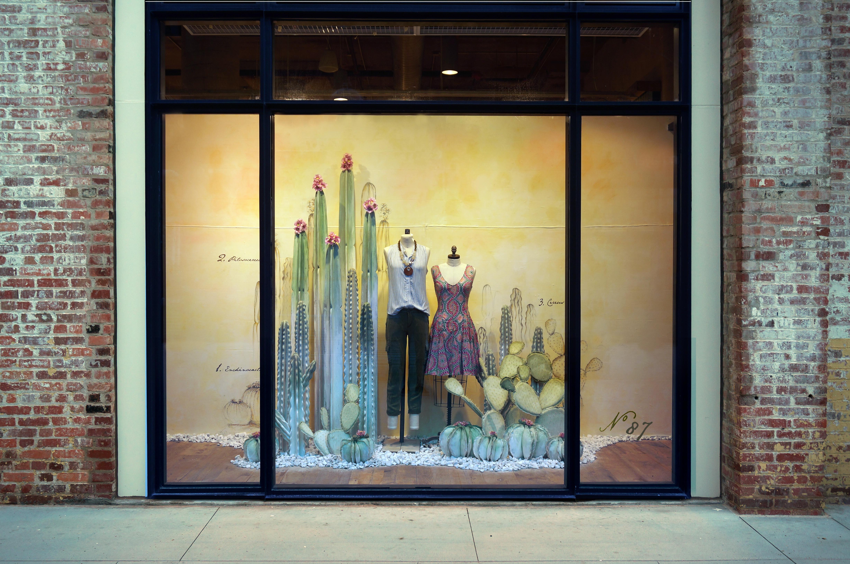 Anthropologie\'s Fall Window Displays