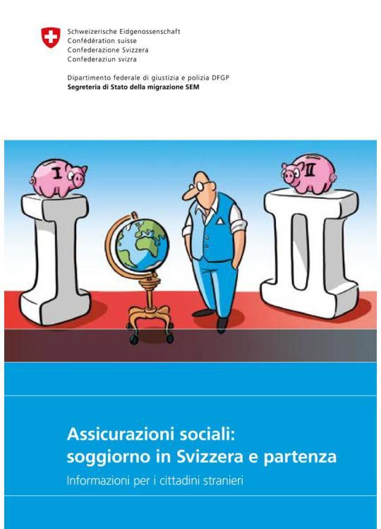 Assicurazioni sociali: Soggiorno in Svizzera e partenza | migesplus