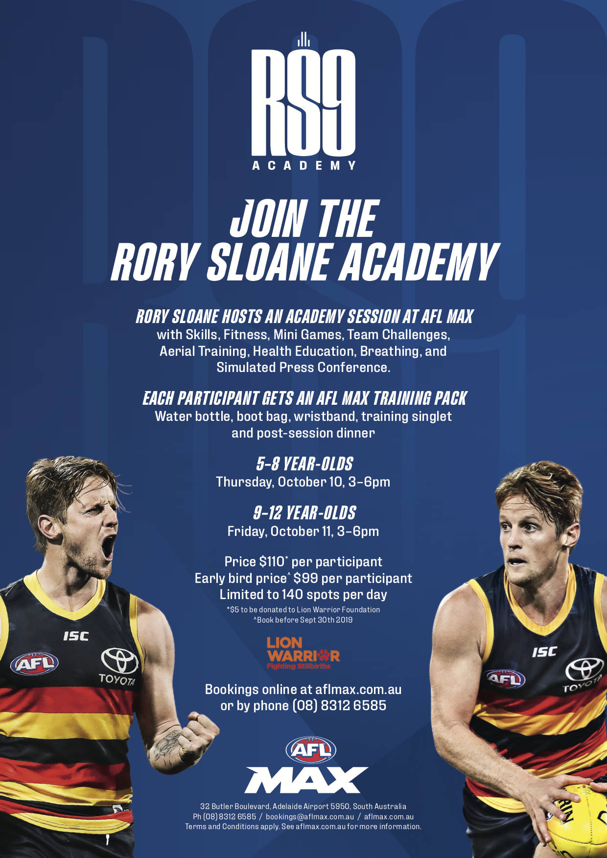 Rory Sloane Academy poster