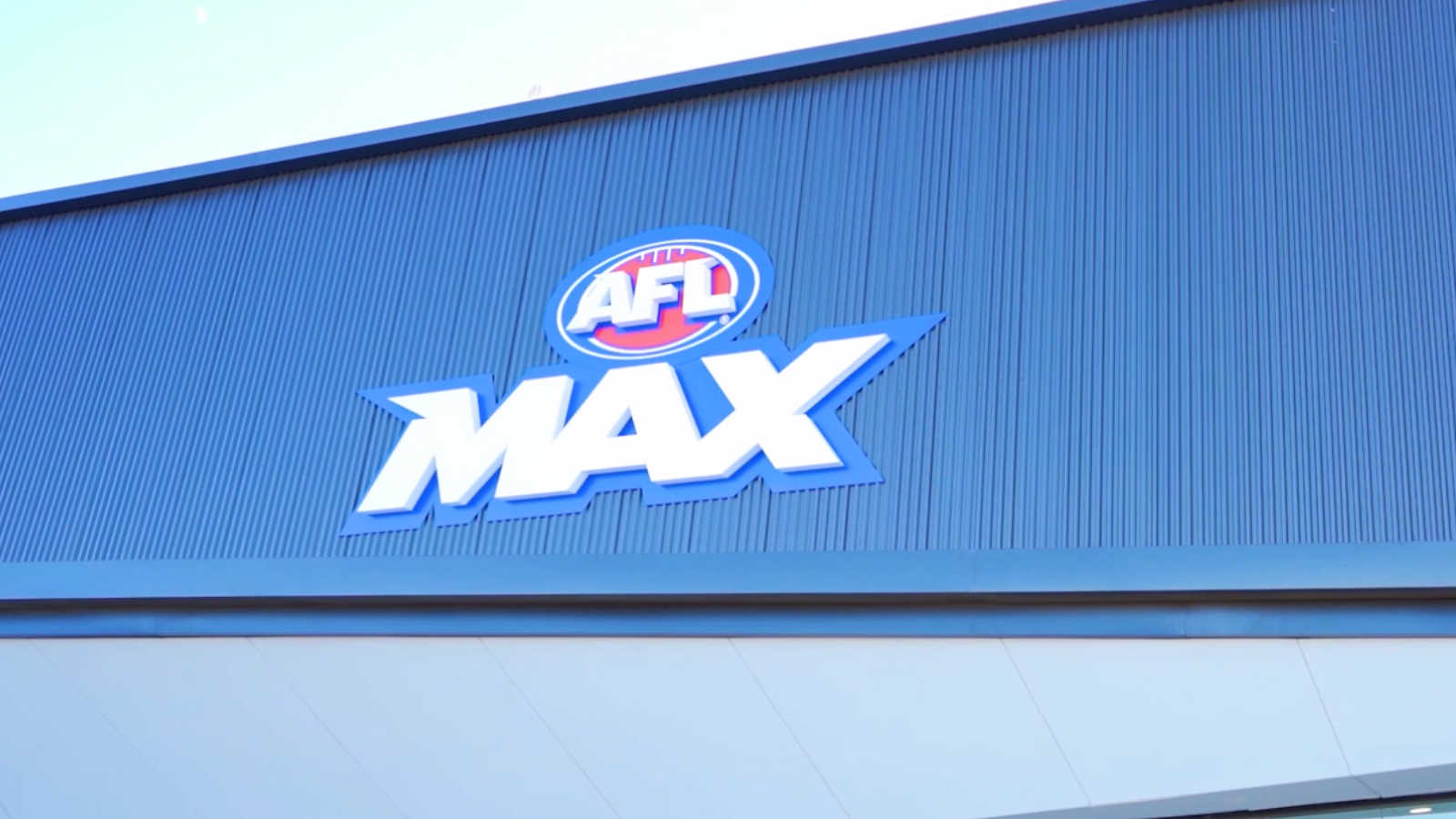 AFL Max logo on building