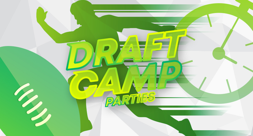 Draft Camp Footy parties for kids Adelaide