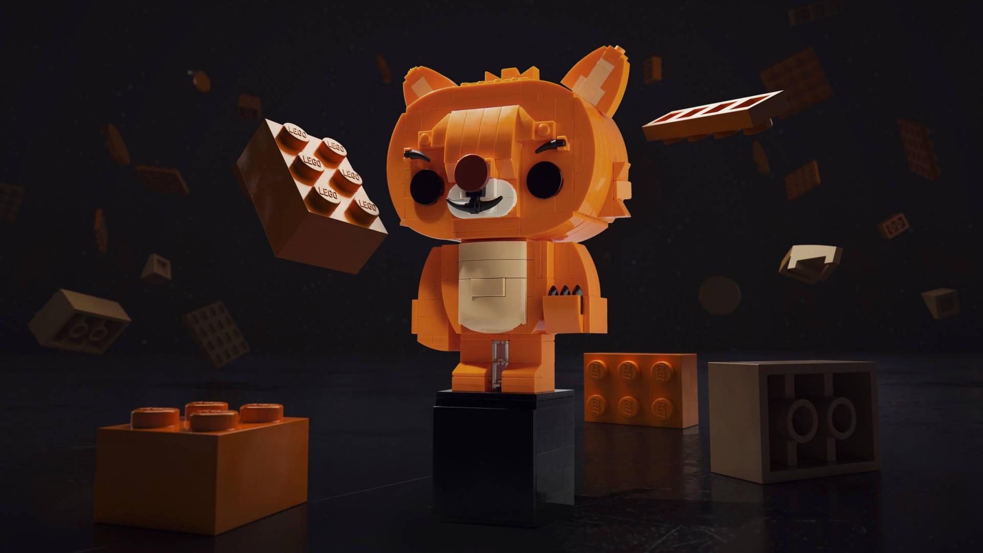 Ltd Edition Lego Future Lion[1]