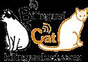 Bilingual Cat Logo