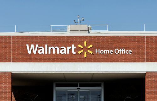 WalMart Store and Logo
