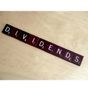 dividend in scrabble letters