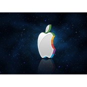 apple company 3d logo