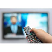 Financial TV image