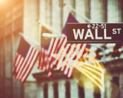 Wall street stock image