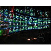 NASDAQ stock exchange room image
