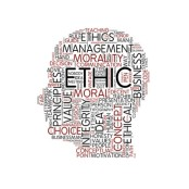 Image of ethical business words