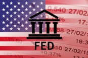FED on Top of The American Flag