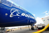 Boeing Plane and Logo