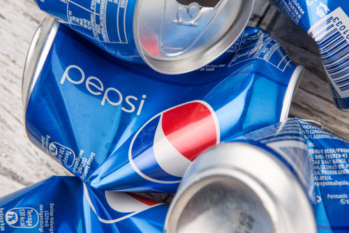 Crushed Pepsi Cans