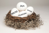 Eggs in a Nest As Different Qualified Retirement Accounts