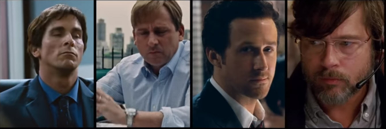 The Big Short actors