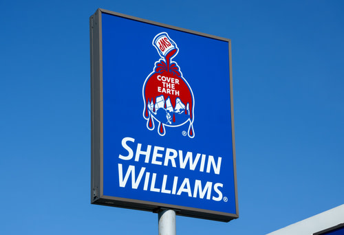 Shwewin-Williams Sign