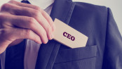 CEO card in pocket