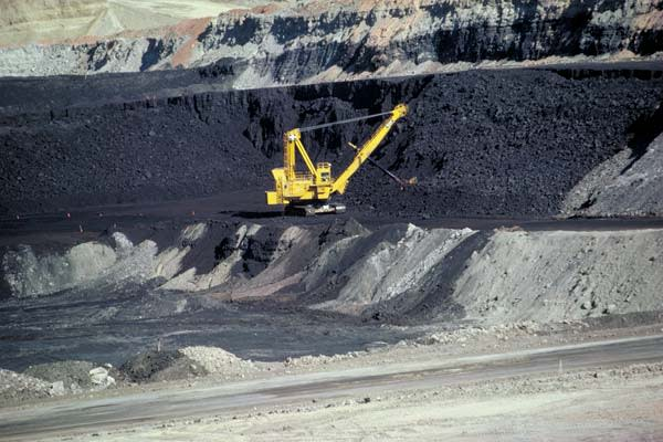 Coal Mine - Wyoming