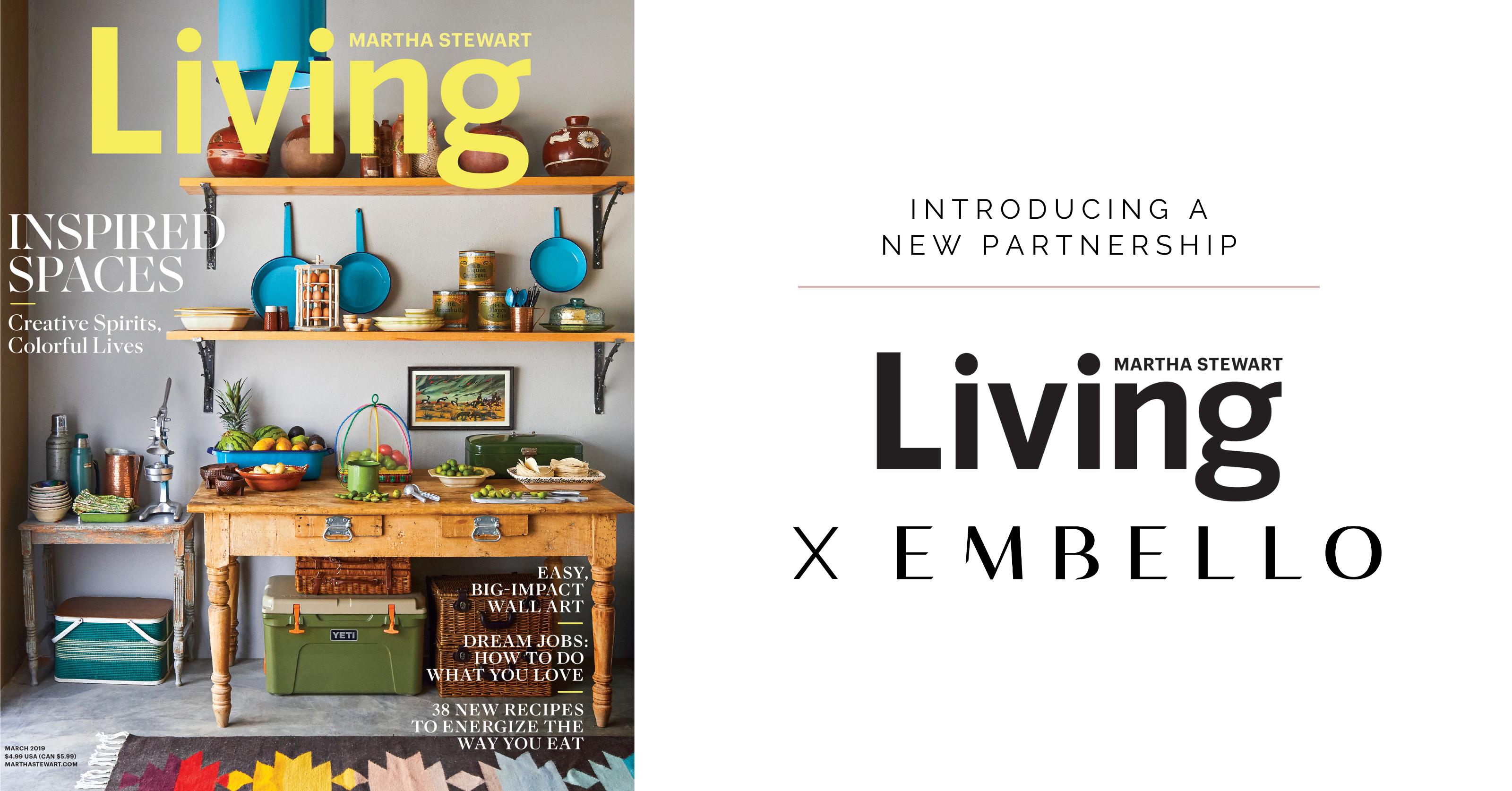 Martha Stewart Living Embello Partnership