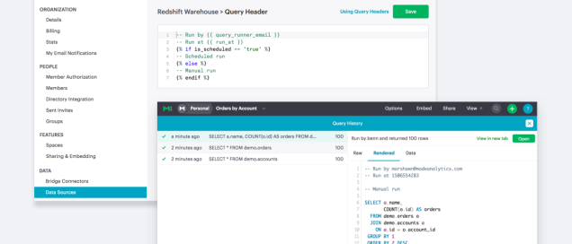 Better Admin Controls with Query Headers