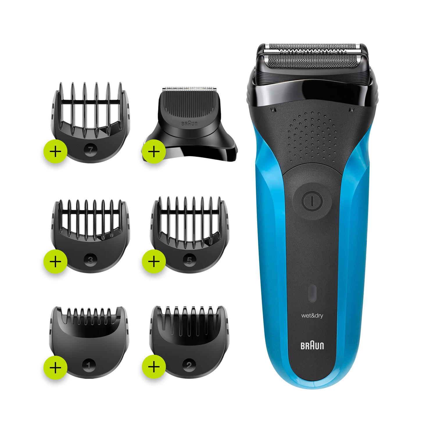Series 3 Shave&Style 300BT, black