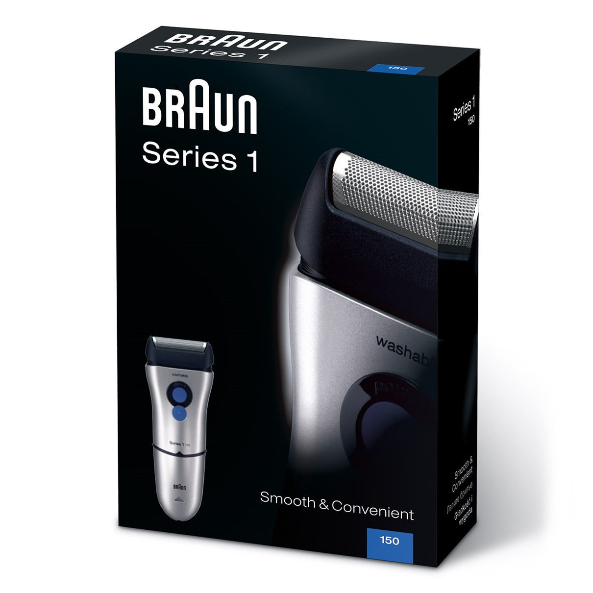 Braun Series 1 150s shaver - packaging