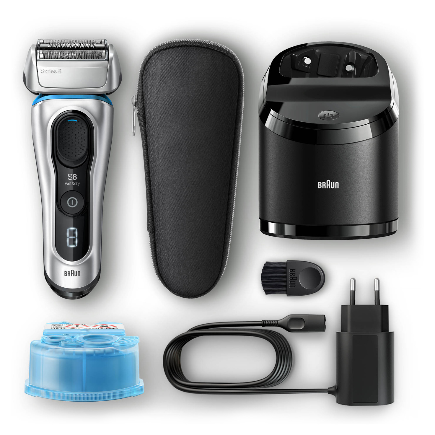 Series 8 8390cc shaver - What´s in the box