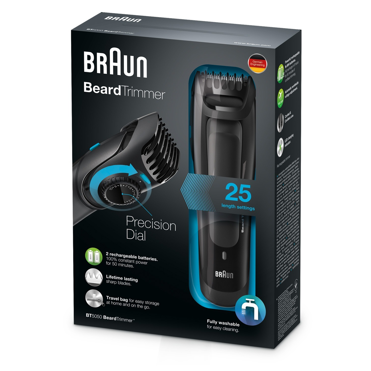 Braun Beard Trimmer BT5050 - packaging