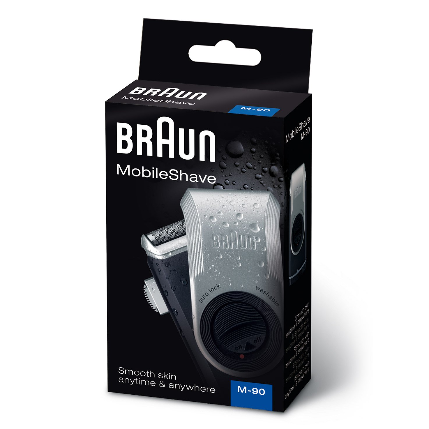 Braun MobileShave M-90 - packaging