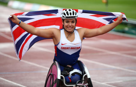 Jade is one of the most exciting talents in British Paralympic sport. Having made her debut in the T54 400m, 800m and 1500m at London 2012, she reached the finals of all three disciplines at the 2013 World Championships, won a 1500m Commonwealth Bronze medal in 2014 and won Silver and Bronze in the 800m and 1500m in the 2014 European Championships. After breaking the 1500m British record in 2017, she switched her attention away from the track and towards Paratriathlon and marathon.  Jade is a super speaker who knows what it takes to get to the top. She is an extremely self-assured and ambitious young athlete she was the face of the SSE advertising campaign for the Glasgow Commonwealth Games, was shortlisted for BBC Young Sports Personality of the Year, has commentated for Channel 4 during the IPC World Championships and is currently juggling her training with studying for a law degree.