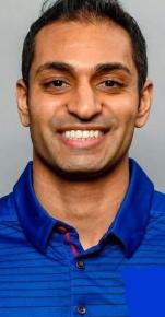 Pratik is a Dietitian, Certified Strength and Conditioning Specialist, and PhD student. For the past 20 years, he has studied nutrition, fitness, recovery, and the interplay between these and optimal health and performance. He has spent the past 11 years implementing his knowledge with elite athletes, most recently as an Assistant Coach with the New York Giants as the Director of Performance Nutrition and Assistant Strength and Conditioning Coach. Here, Pratik was in charge of all things nutrition, hydration, supplementation, sleep, and recovery related to optimizing health and performance.  Prior to his arrival at the Giants, Pratik worked over 7 years at the collegiate level at Kansas State, Michigan State, and the University of Oregon where he had the opportunity to build, grow, and integrate sports nutrition departments from the ground up. During his career, Pratik has worked with 2 NFL All-Pros, 8 Pro Bowlers, 33 NFL Draft Picks (7-1st Rounders), 7 NBA Draft Picks, 2 PGA Tour Players, and 3 USATF Olympians.  Pratik is also a Registered Dietitian and board Certified Specialist in Sports Dietetics (CSSD) through the Academy of Nutrition and Dietetics (AND) as well as a Certified Strength and Conditioning Specialist (CSCS) through the National Strength and Conditioning Association (NSCA).