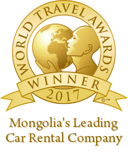 Mongolia's leading car rental company 2017 winner