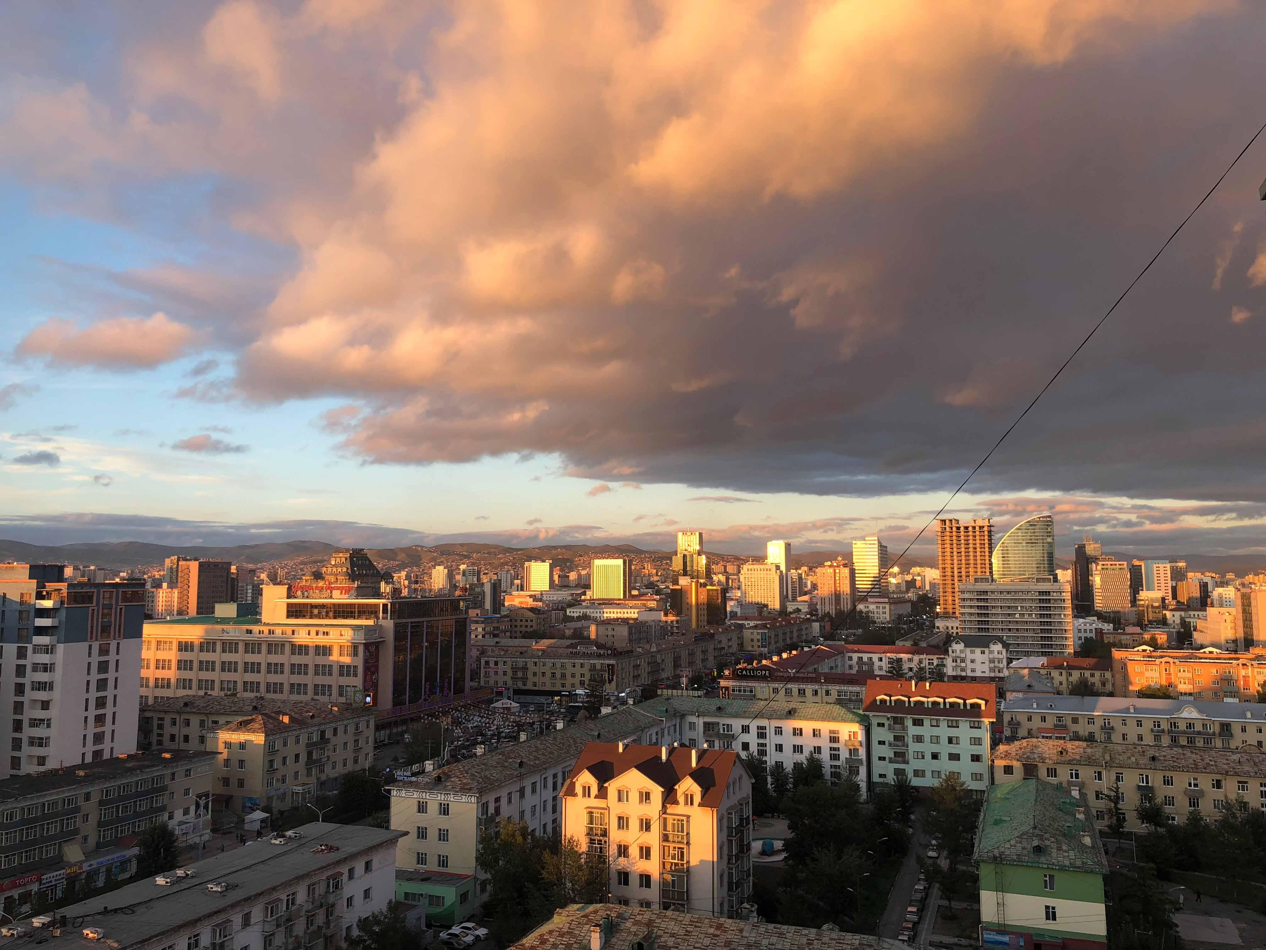 Back in Ulaanbaatar