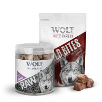 Wolf of Wilderness snacks para perros